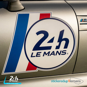 Official Le Mans Side Panel Flag Logo Sticker (2 Large & 4 Small)