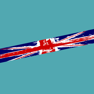 UK Grunge Flag Sunstrip