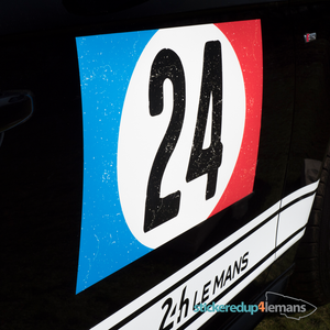 Vintage Tricolore 24 - Numbers - StickeredUp4LeMans