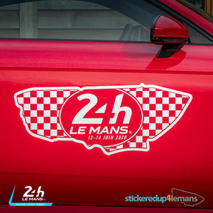 Official Le Mans Circuit Logo & Dates Sticker