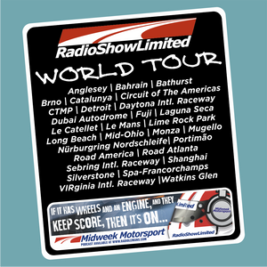 RadioShowLtd World Tour Sticker
