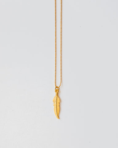 Leaf Necklace-necklace-CUMBIA