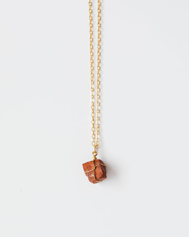 Amber Necklace-necklace-CUMBIA