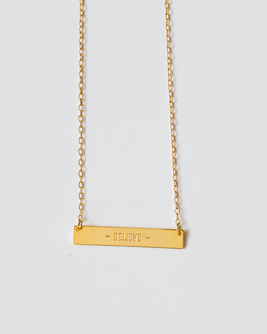 Believe Necklace-necklace-CUMBIA