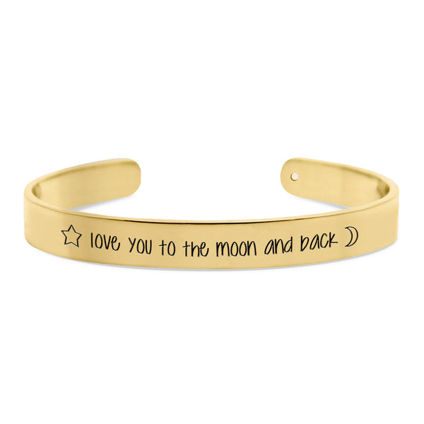 Love you to the moon and back-CUFF-CUMBIA