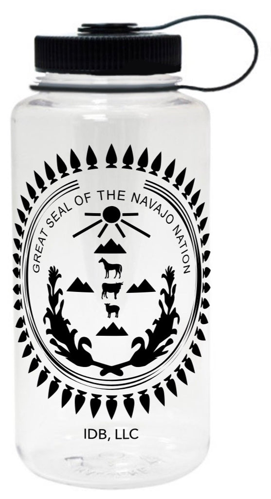Navajo Nation Seal Water Bottle