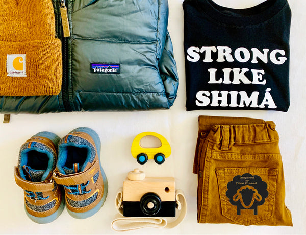 Strong Like Shimá - Toddler Tee