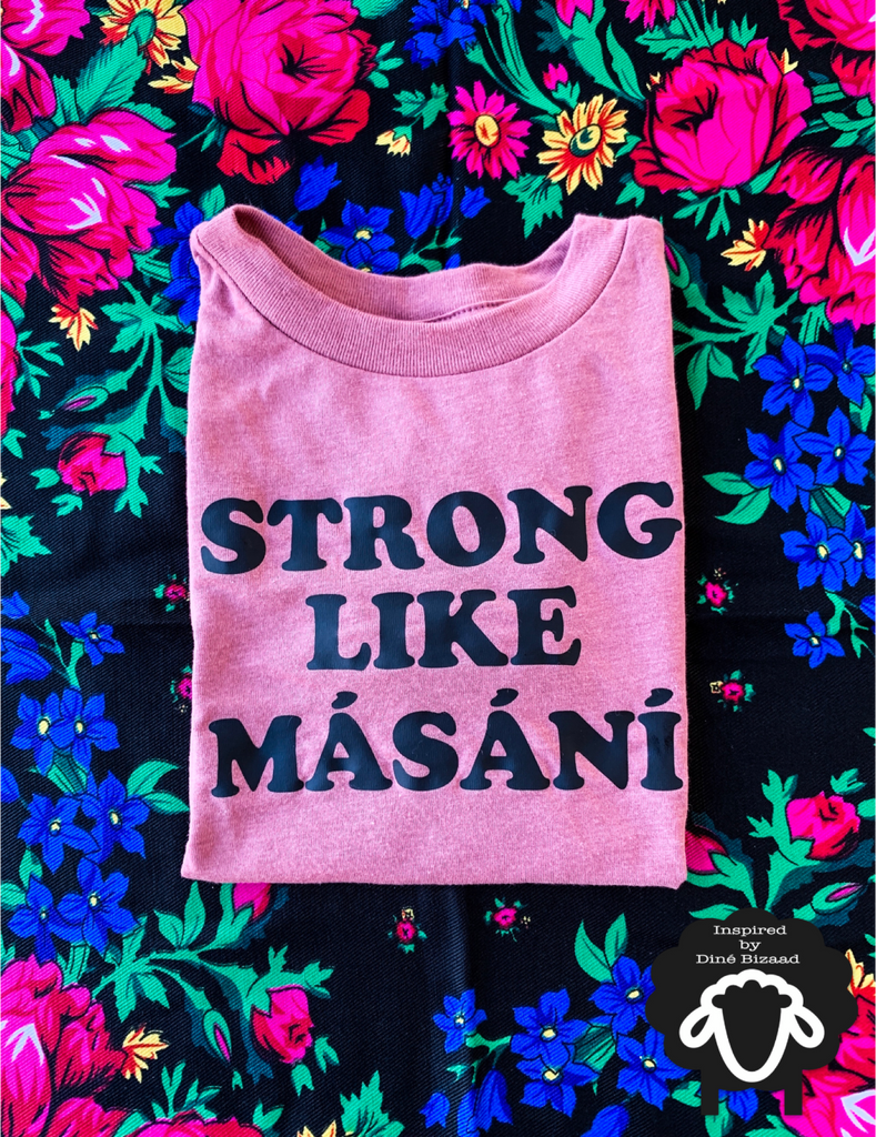 Strong Like Másání Toddler Tee