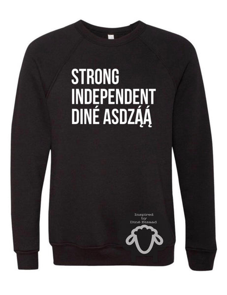 Strong Independent Diné Asdzą́ą́ Sweater