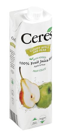 Ceres Cloudy Apple And Pear Juice1 Litre