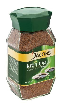 Jacobs Kronung Instant Soluble Coffee 200g