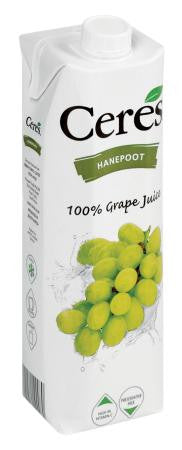 Ceres Hanepoot Grape Juice 1 Litre