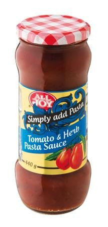 All Joy Napoltina Pasta Sauce 440g