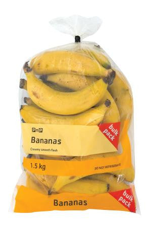 Bananas Bulk Value Bag 1.5 Kg
