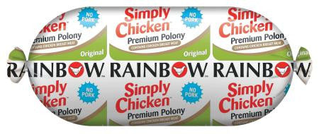 Rainbow Original Chicken Polony 750g