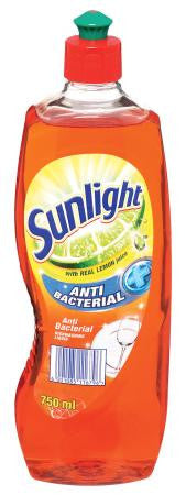 Sunlight Antibacterial DishwashingLiquid 750ml