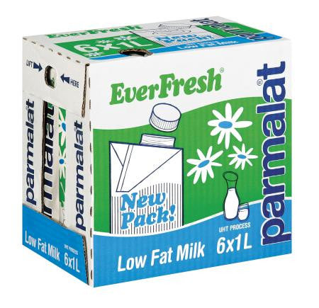 Everfresh 2% Low Fat Long Life Milk 1l x6