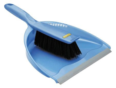 Addis Dustpan And Brush SetBlue