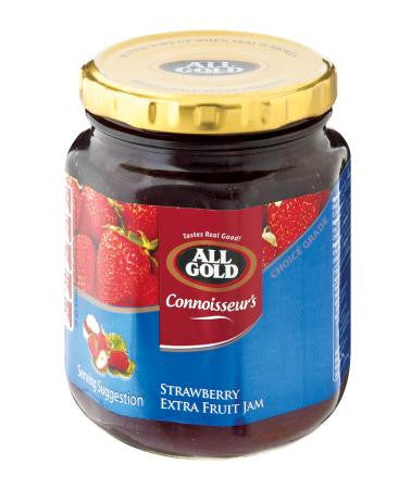 All Gold Connoisseur Strawberry Jam 320g