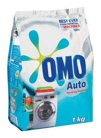 Omo Automatic Flex Washing Powder 1kg