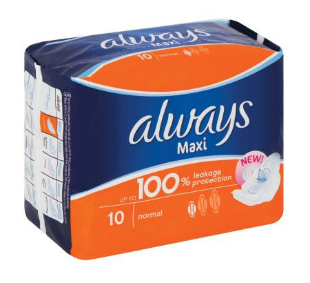 Always Maxi Plus 10