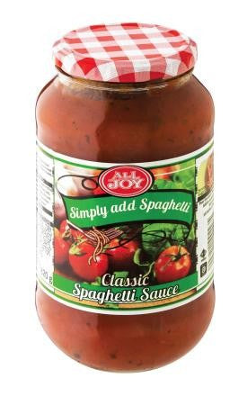 All Joy Spaghetti Classic Sauce 820 GR