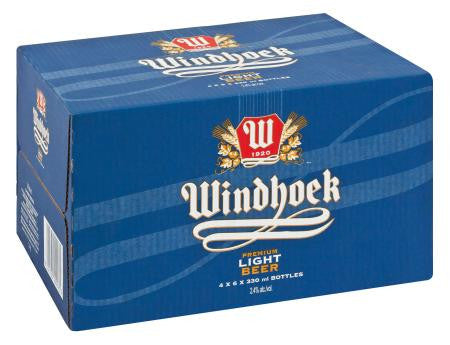 Windhoek Light NRB 330 ml x24