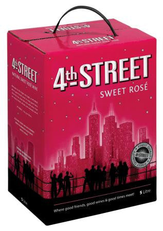 4th Street Natural Sweet Rose 5 L
