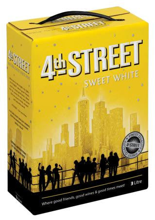 4th Street Sweet White Wine 3 L
