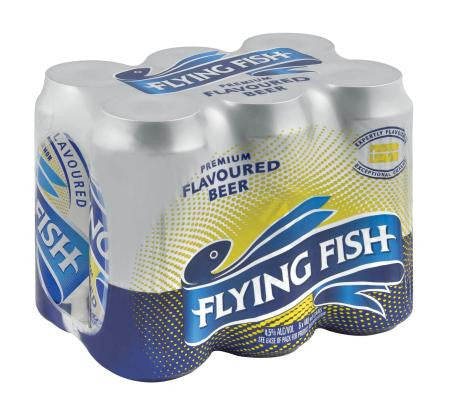 Flying Fish Pressed Lemon 440ml x6
