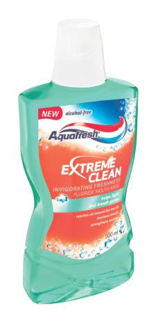 Aquafresh Mouthwash Extreme CleanFresh 500ml