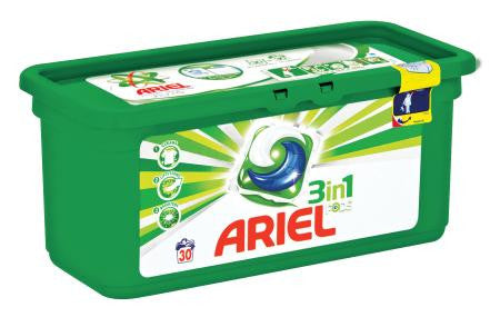 Ariel Detergent Power Capsules Machine Wash 30ea