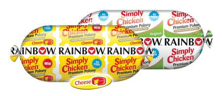 Rainbow Polony Chicken Cheese 700g