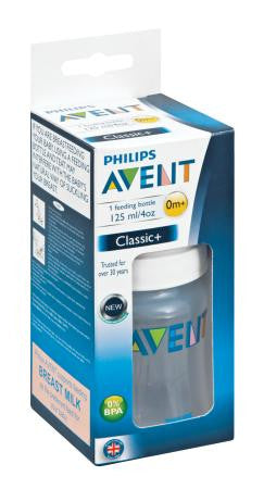 Avent Feeding Bottle Classic 125ml