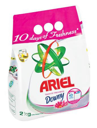 Ariel Washing Powder Auto Touch Of Downy 2kg