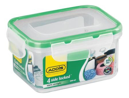 Addis Rectangle Container 0.5L