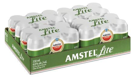 Amstel Lite Can 330ml x24