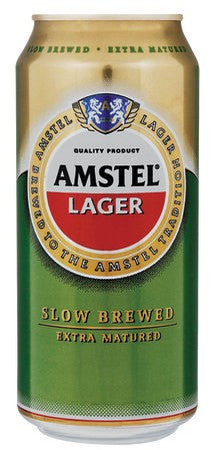 Amstel Lager Can 440 Ml x24