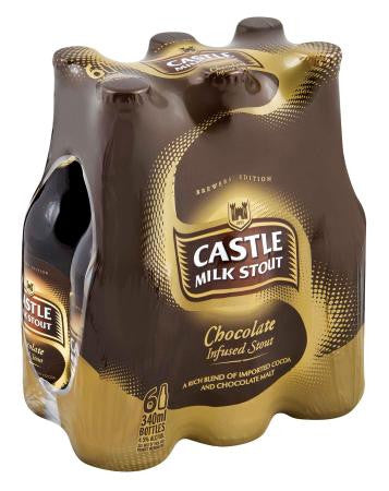 Castle Milk Stout Chocolate 340ml x6