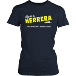 It's A Herrera Thing, You Wouldn't Understand