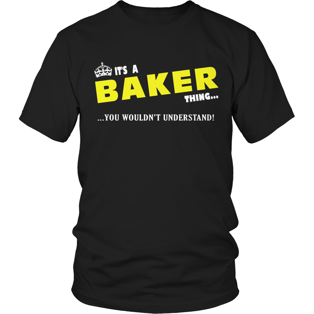 It's A Baker Thing, You Wouldn't Understand