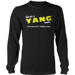 It's A Yang Thing, You Wouldn't Understand