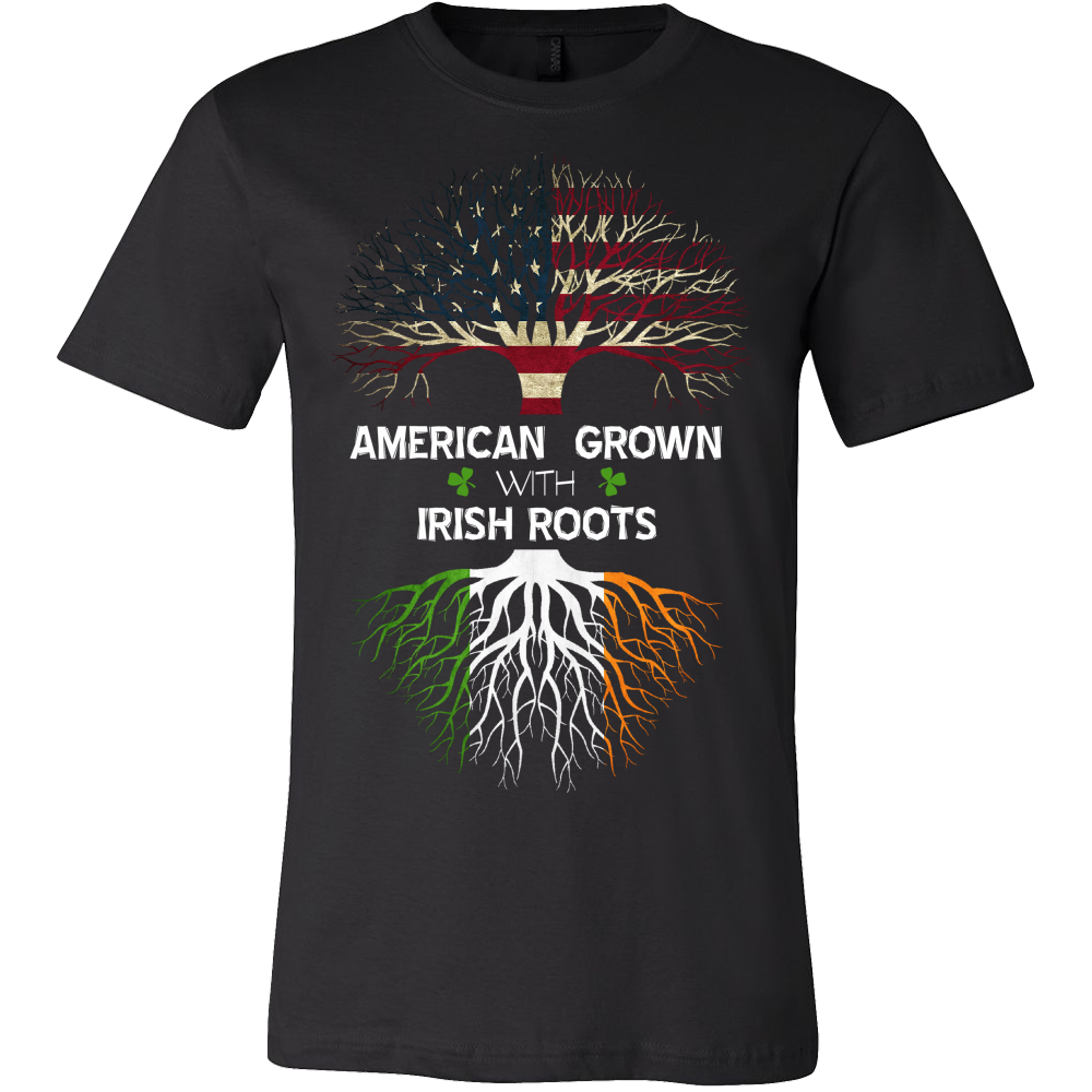 AMERICAN Grown with IRISH Roots!