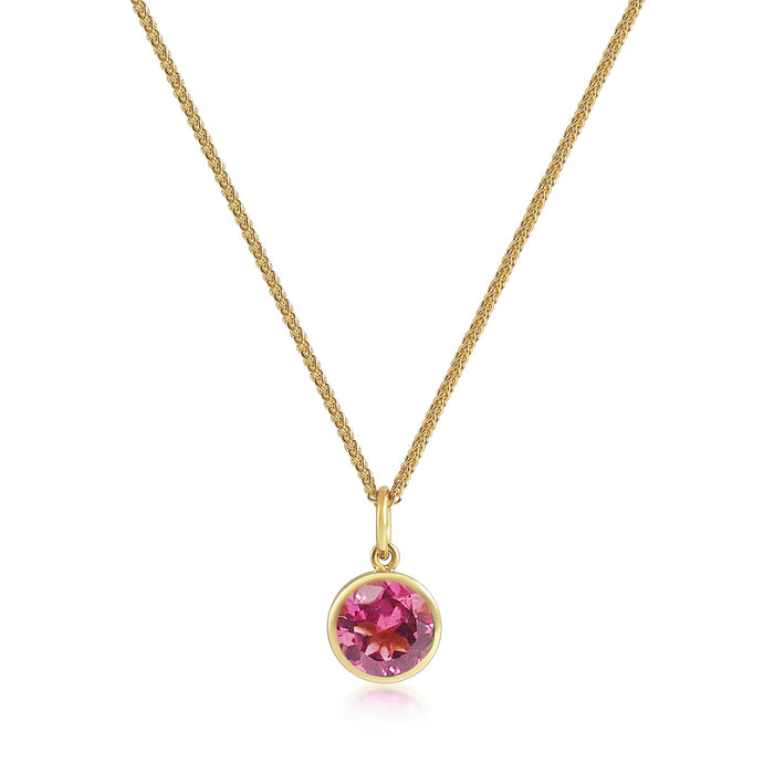 Accroche Coeur - Pink Tourmaline