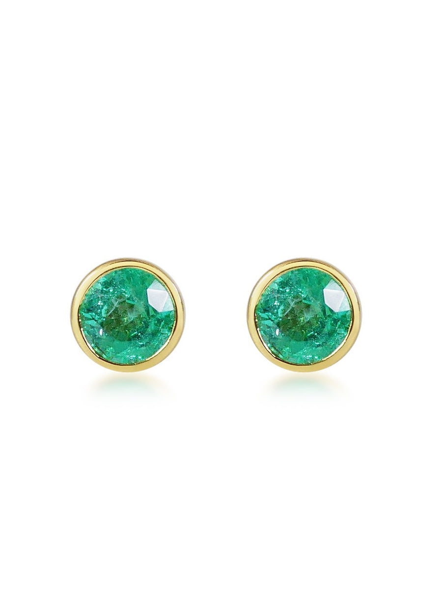 Bouttons D'Or - Emerald
