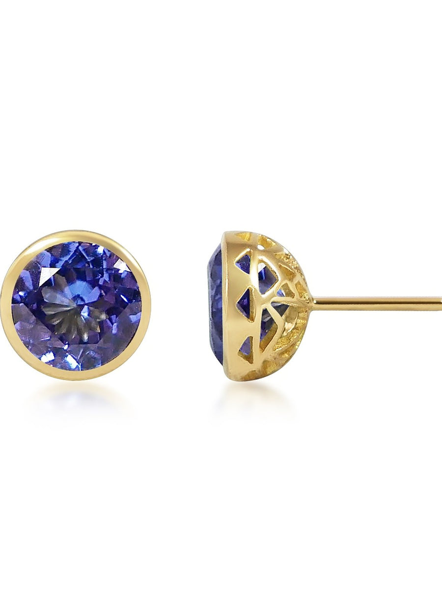 Bouttons D'Or - Tanzanite
