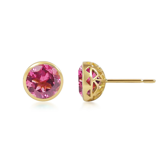 Boutons D'Or - Pink Tourmaline