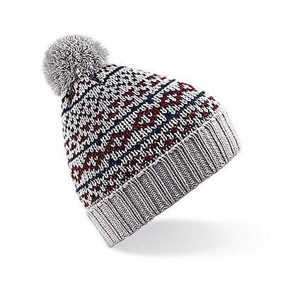 ... WOMENS   MENS BC457 NORDIC SNOWSTAR BEANIE GREAT FOR WINTER UNISEX ONE  SIZE ... 92c9bc0f5f3d