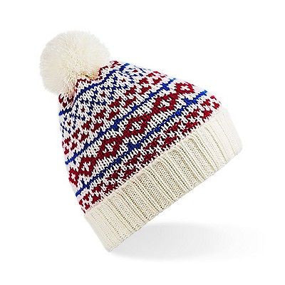 ... WOMENS   MENS BC457 NORDIC SNOWSTAR BEANIE GREAT FOR WINTER UNISEX ONE  SIZE 3bb57f3d6b04