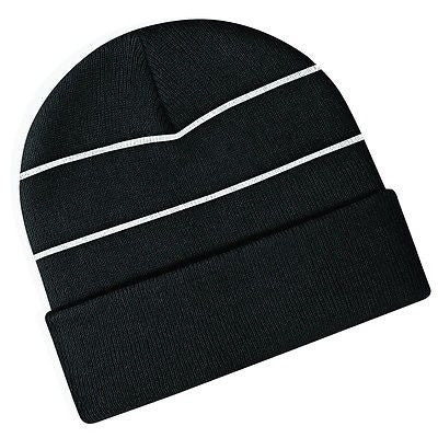 MENS   WOMENS BC042 ENHANCED VIZ KNITTED HAT GREAT FOR WINTER SNOW HIG – SMS  TOGETHER f89f495b38fb